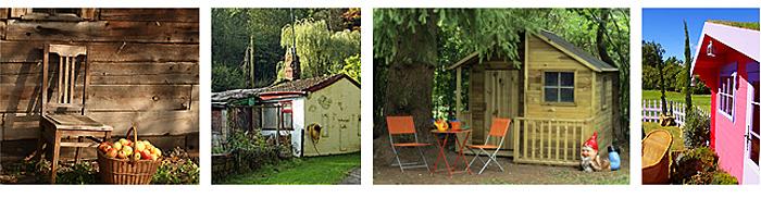 toutes les belles cabanes de jardin