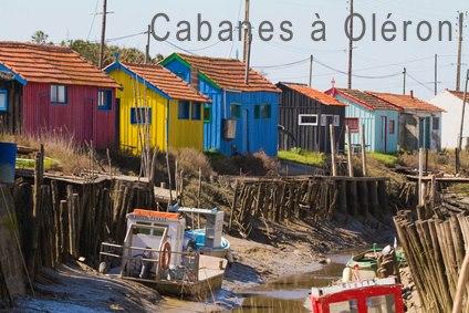 Oléron: destination cabanes.