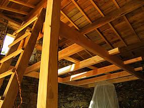 mezzanine en bois