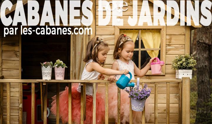 enfants dans une cabane