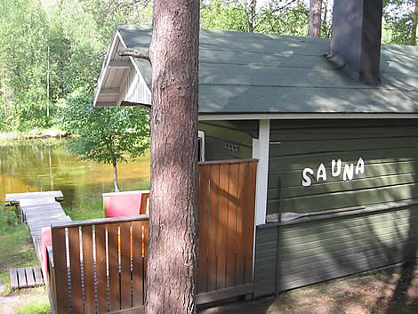 deuxi me cabane installer un sauna sur son jardin une. Black Bedroom Furniture Sets. Home Design Ideas