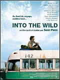 affiche : into the wild jeune homme assis sur le toit d'un vieux bus