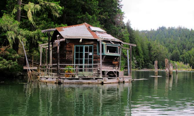 cabane flottante photo
