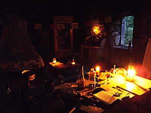 intérieur de la bergerie avant les travaux
