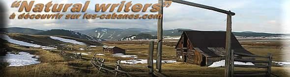 les naturals writers, les écrivains des cabanes
