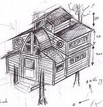 Construction De Cabane Bois Plans Dimensions Materiaux