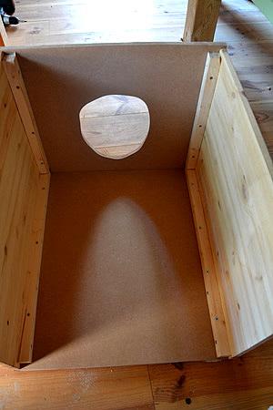 montage toilette seche cabane