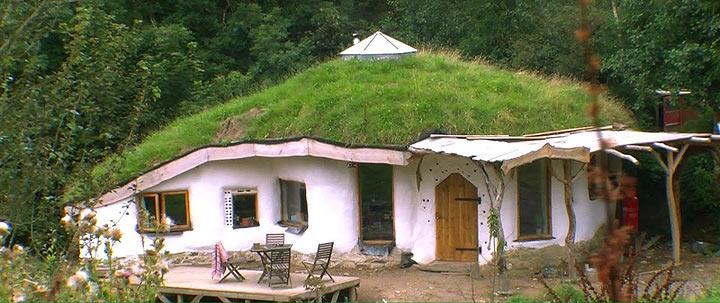 maison de hobbit meg et charlie