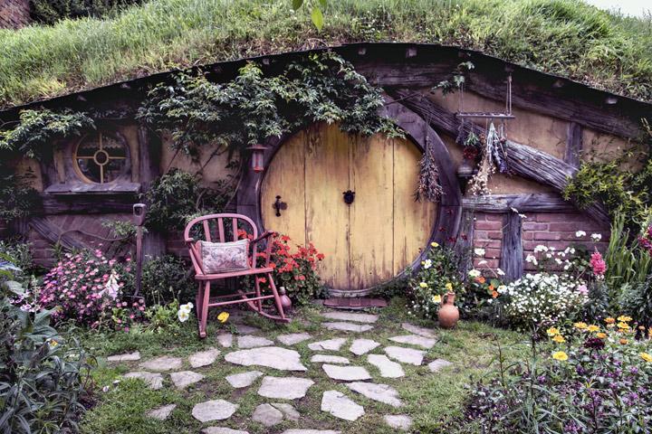 cabane de Hobbit