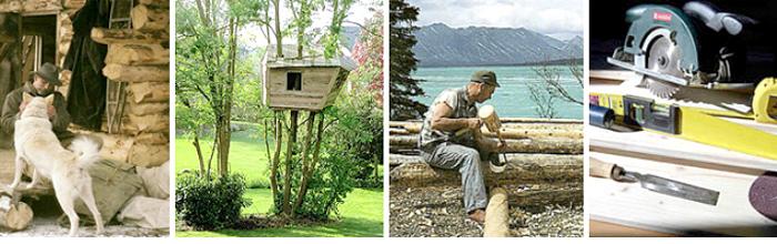 construire sa propre cabane