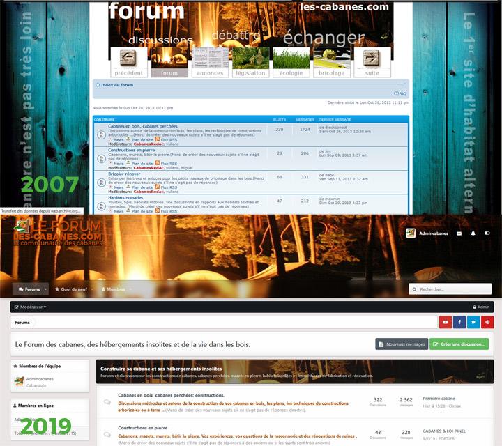 nouveau forum des cabanes.