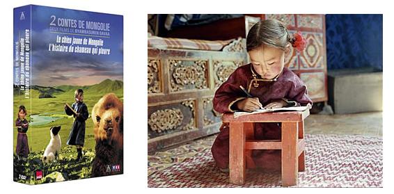 Contes De Mongolie, livre et dvd