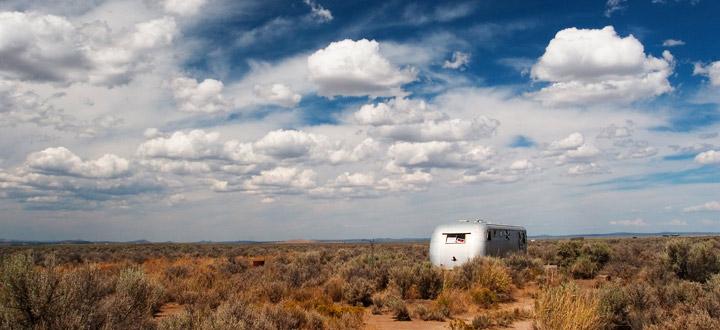caravane dans le desert