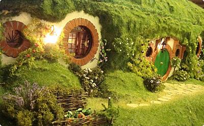 """Maison Hobbit """"La comté"""", Tolkien"""