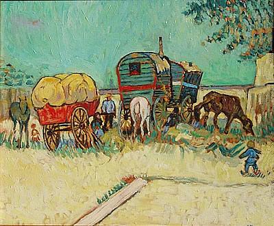 Les roulottes Van Gogh, Musée d'Orsay