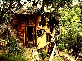 Une cabane dans le Gard