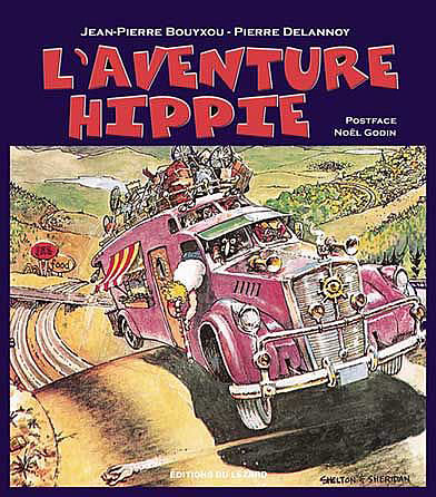 Au States, le méga camping car était un symbole Hippie.