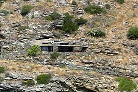 Habitat intégré sur un cap rocheux: Catalogne Espagnole