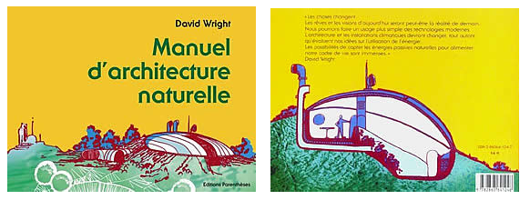 "Livre David Wright ""Manuel d'architecture naturelle"""