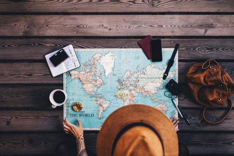 trouver une carte