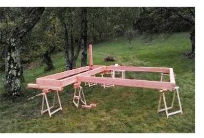 construction des chassis la terrasse