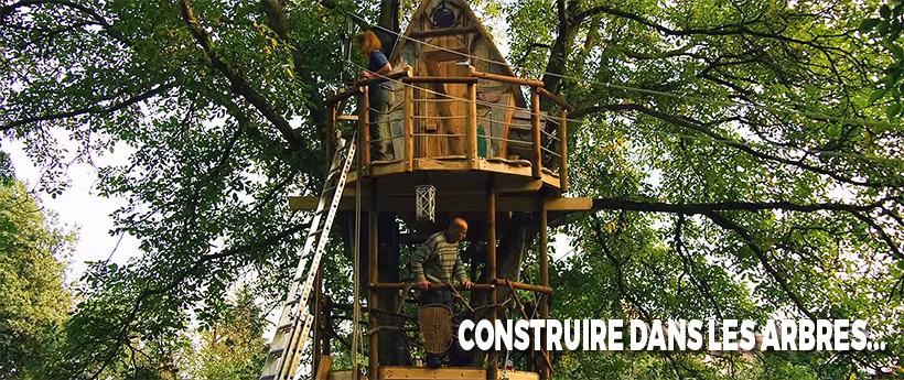 construire une cabane suspendue
