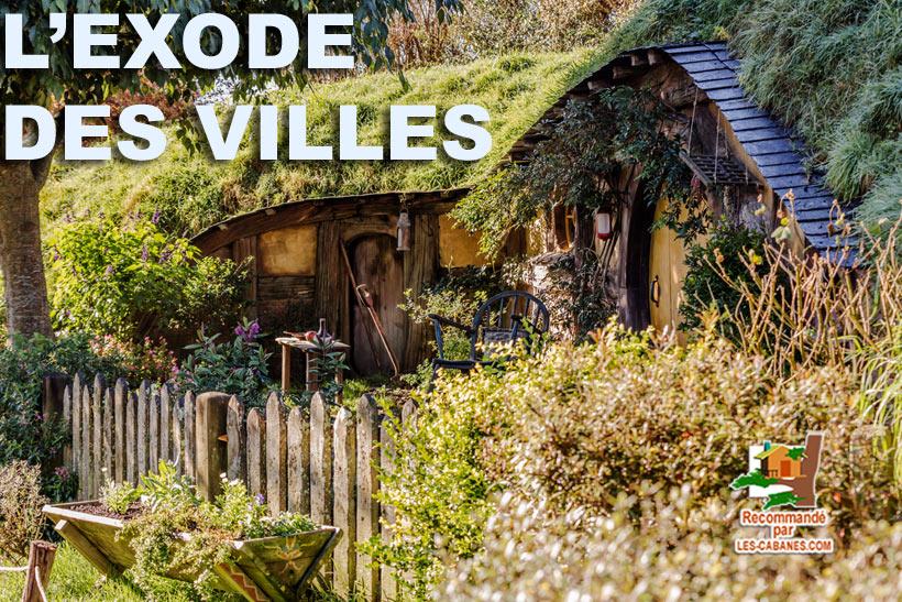 cabane de Hobbits